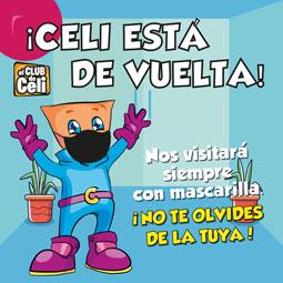 Abrir ¡Celi ya está de vuelta en As Cancelas!