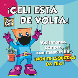 Abrir Celi xa está de volta en As Cancelas!