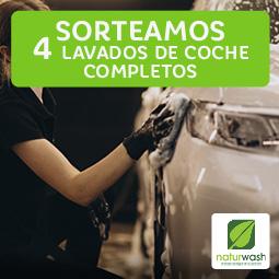 Abrir Sorteamos 4 lavados de coche completo en Naturwash