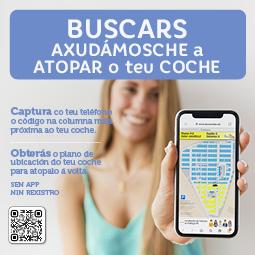 Abrir Axudámosche a atopar o teu coche co noso novo servizo