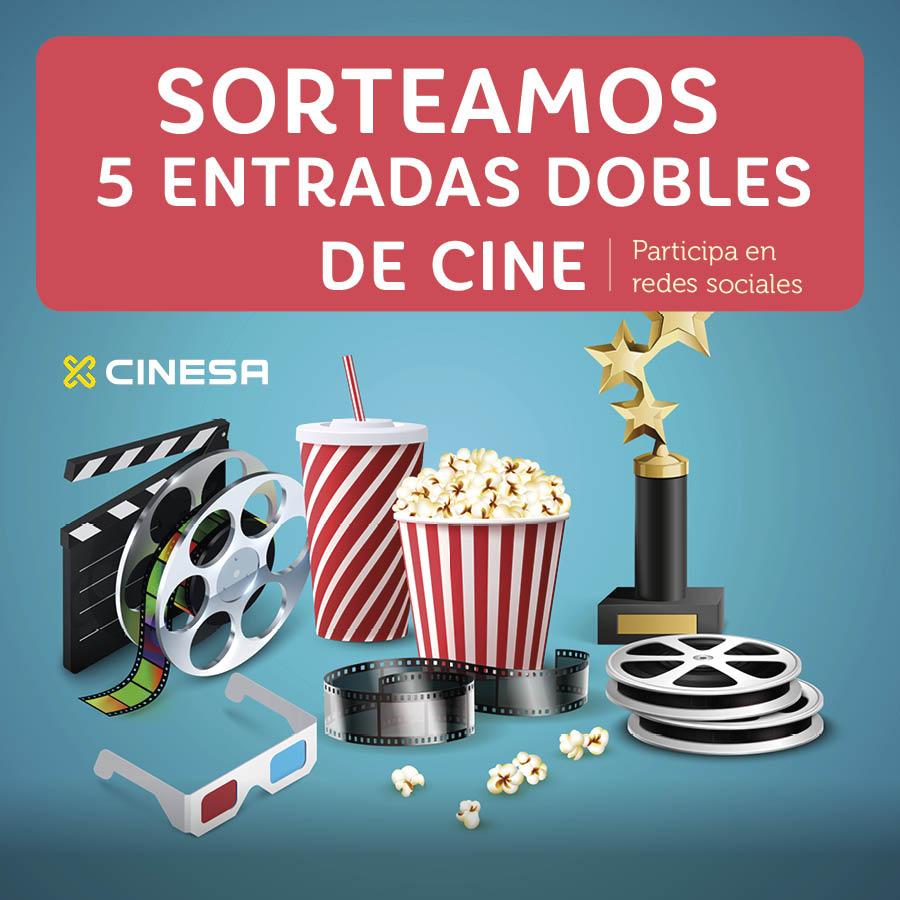 Abrir Sorteamos 5 entradas dobles de cine para Cinesa As Cancelas