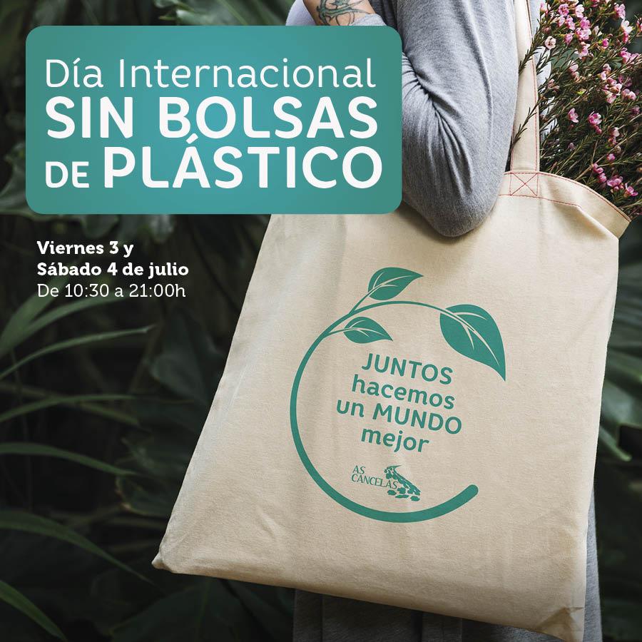 Abrir Consigue con tus compras nuestra bolsa de tela reutilizable