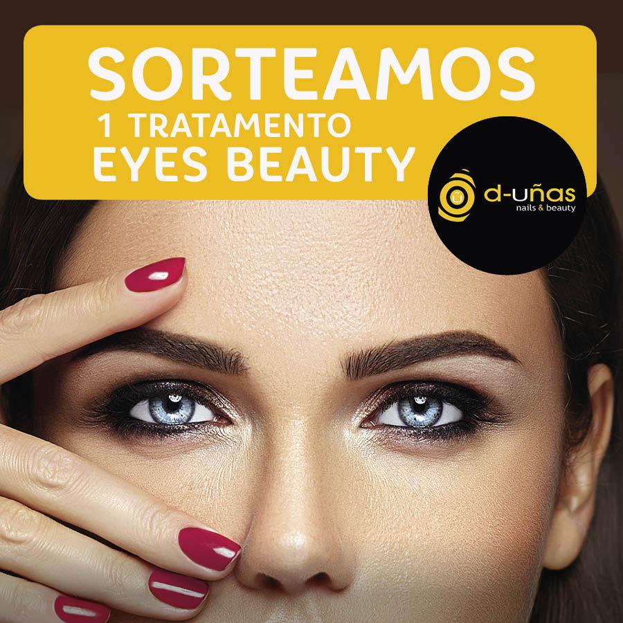 Abrir Sorteamos 1 tratamento Eyes Beauty en D'Uñas As Cancelas