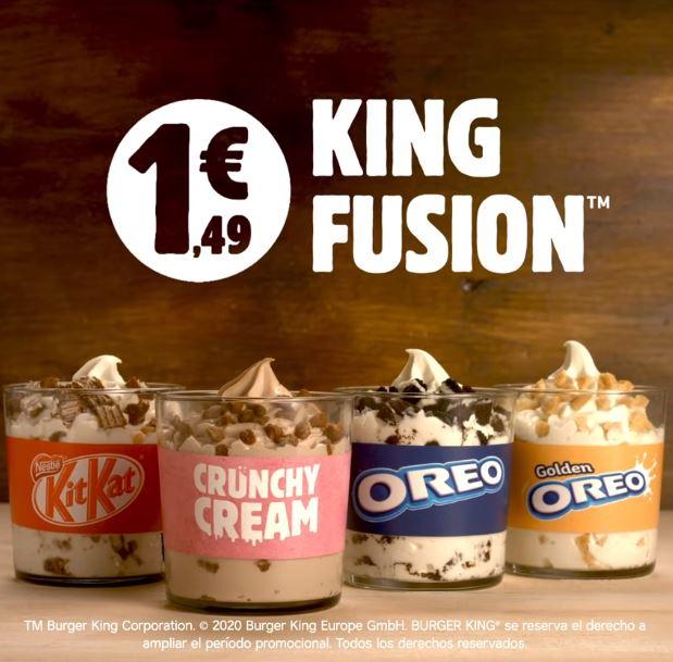 Abrir Ya está de vuelta el delicioso King Fusion en Burger King