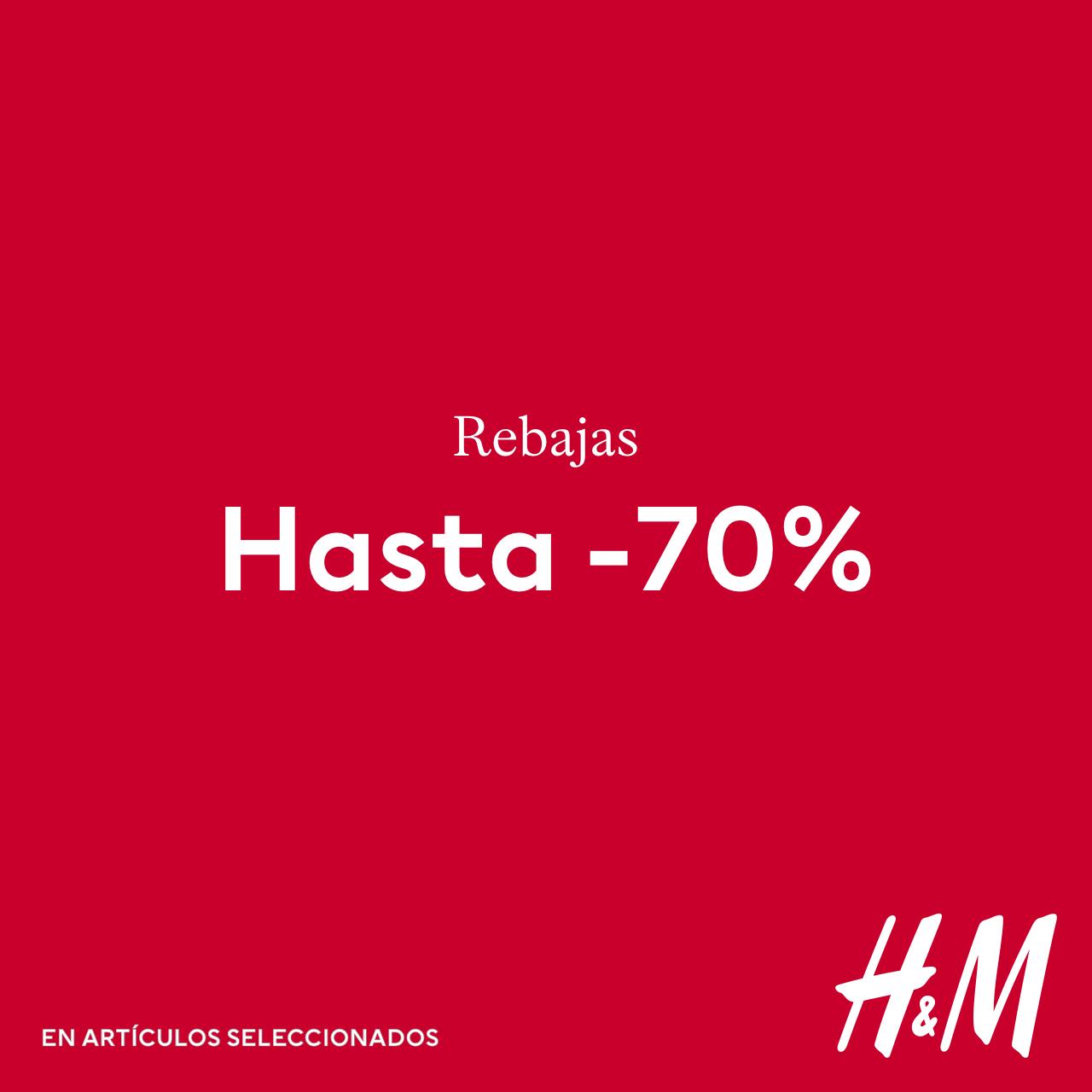 Abrir As rebaixas de H&M agora son incluso mellores