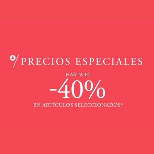 Abrir Goza dos prezos especiais das rebaixas de Tous