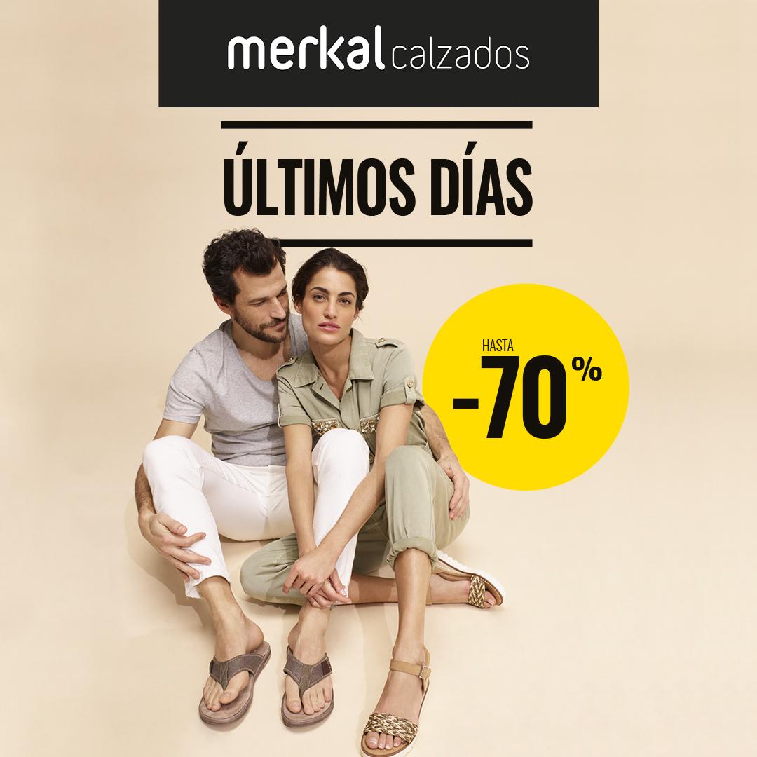 Abrir Aproveita os últimos días de rebaixas en Merkal