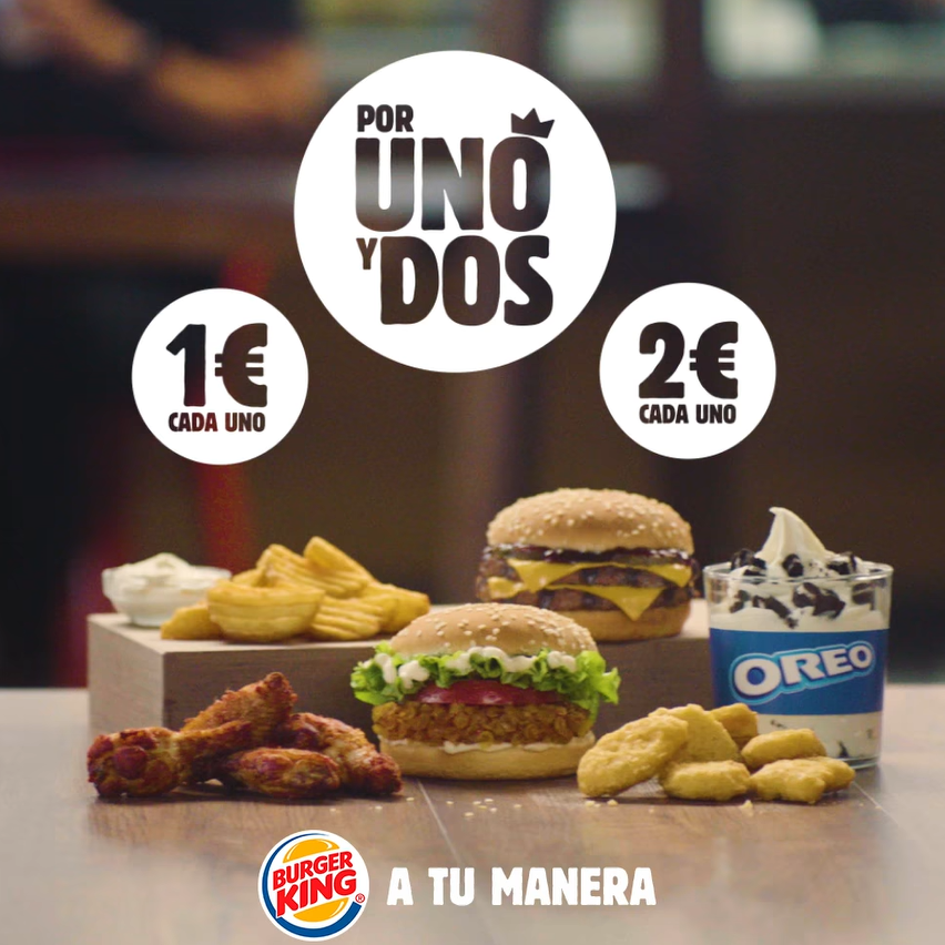 Abrir Las ofertas más deliciosas han llegado a Burger King