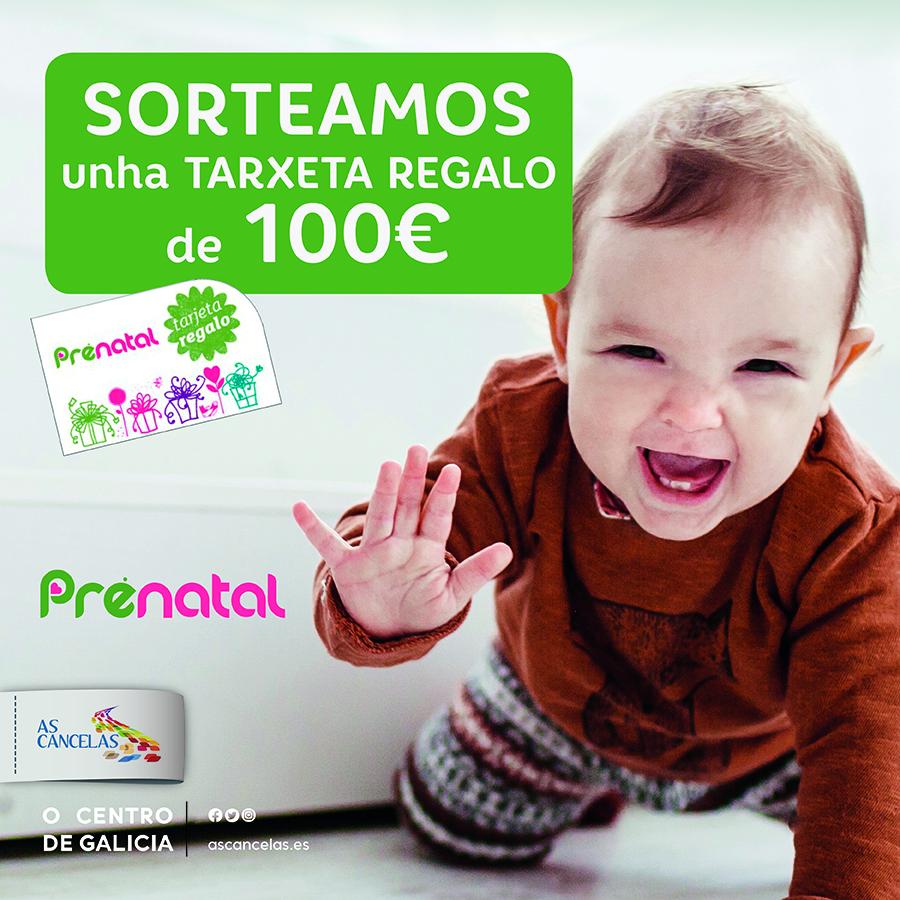 Abrir Sorteamos 1 Tarxeta Regalo de Prenatal