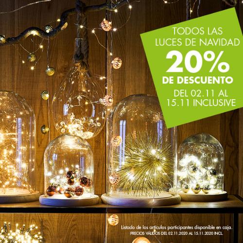 Abrir Os teus artigos de nadal con 20% de desconto en Casa