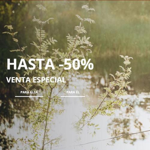 Abrir Venta especial con descuentos del 50% en Cortefiel