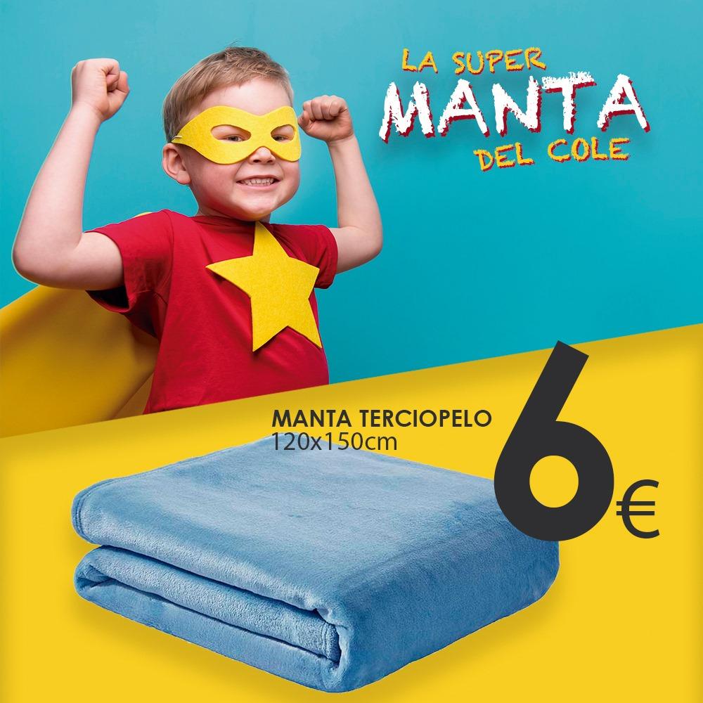 Abrir ¡Mantas de terciopelo a 6€ para abrigar ós máis peques!