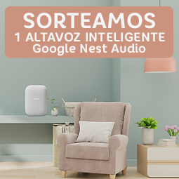 Abrir Sorteamos 1 Altavoz Inteligente Google Nest Audio