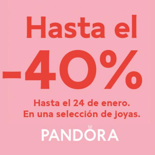 Abrir Ya puedes aprovechar las rebajas de invierno en Pandora
