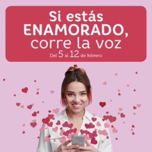 Abrir Este San Valentín si estás enamorado… ¡corre la voz!