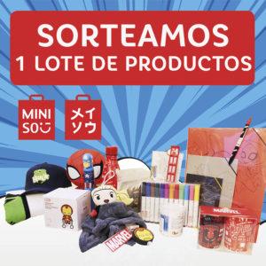 Abrir ¡Sorteamos 1 lote de productos Miniso!