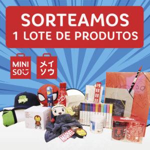 Abrir Sorteamos un lote de produtos Miniso!