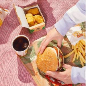 Abrir Tu menú con helado en Burger King por tan solo 4,50€