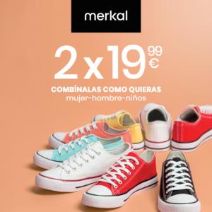 Abrir Zapatillas de lona para toda la familia con Merkal