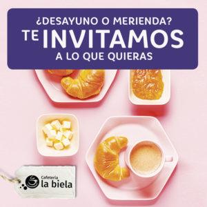 Abrir ¡Te invitamos a un desayuno o merienda por tus tickets de compra!