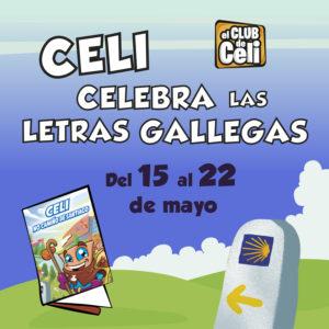 Abrir ¡Celebra con Celi el Día de las Letras Gallegas!