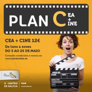 Abrir Ven gozar do plan C: cea + cine por 12€