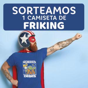 Abrir Sorteamos unha camiseta molona de Friking