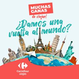Abrir Participa con tus tickets de compra en el sorteo de una vuelta al mundo