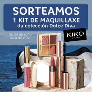Abrir Sorteamos 1 kit de maquillaxe de Kiko Milano