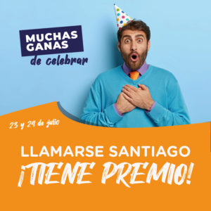 Abrir ¿Te llamas Santiago? ¡Tenemos un regalo para ti!