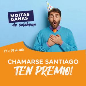 Abrir Chámaste Santiago? Temos un agasallo para ti!