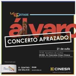 Abrir Los40 Stage: goza de Álvaro de Luna en concerto