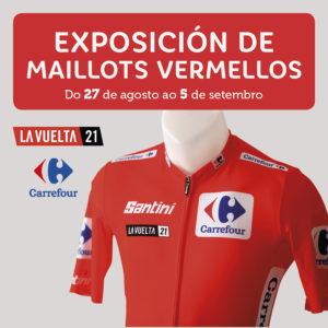 Abrir Ven descubrir os maillots dos últimos gañadores de La Vuelta