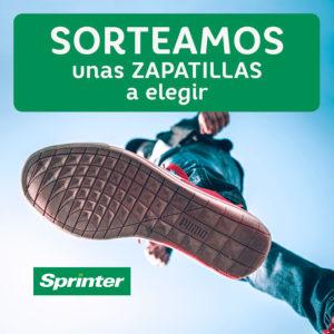Abrir Sorteamos un par de zapatillas a elegir de Sprinter