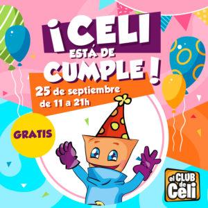 Abrir Celebramos el cumple de Celi con una gran fiesta