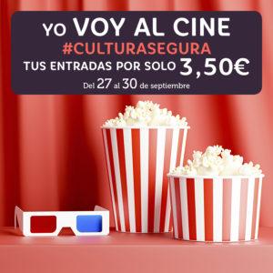 Abrir Yo voy al cine: del 27 al 30 de septiembre tus entradas a 3,50€
