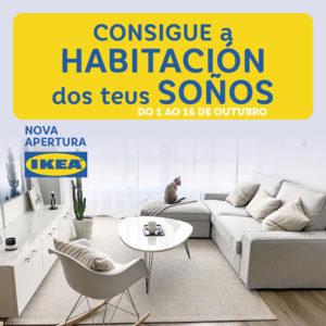 Abrir Sorteamos un proxecto de deseño de Ikea valorado en 1.000€