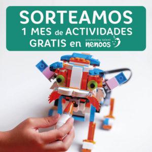 Abrir Sorteamos 1 mes de actividades gratis en la escuela Nenoos