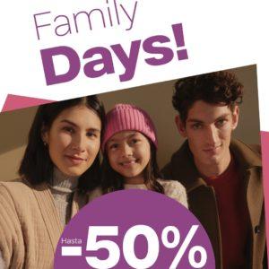 Abrir Family days en Deichmann con ata o 50% de desconto
